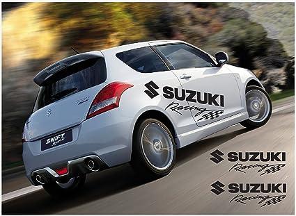 Amazon Com Suzuki Swift Racing Side Decal 2 Pcs Set 1400mm Automotive