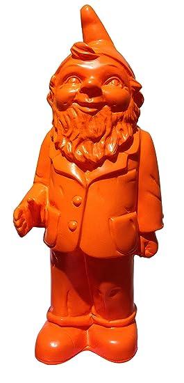 Ottmar Hörl - Nain de jardin de bienvenue couleur orange ...