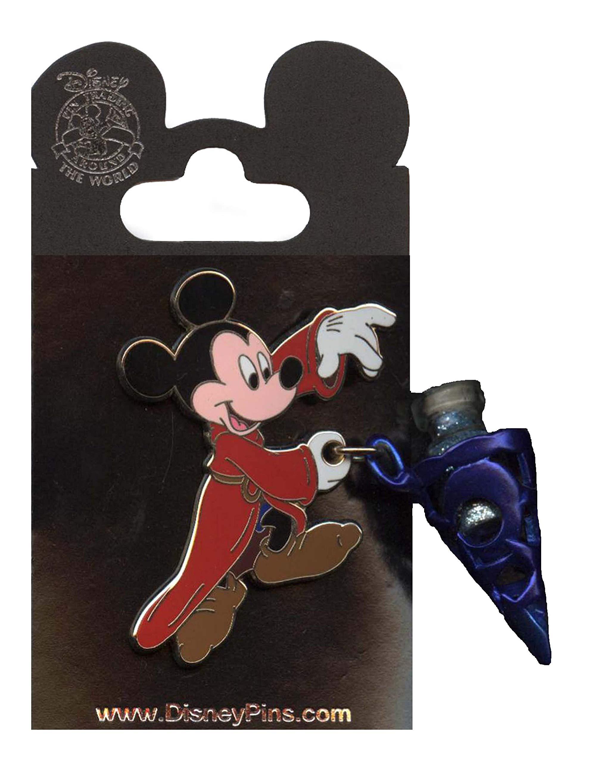 Disney Pin - Sorcerer Mickey - Vial of Magic Dust - Pin 82587