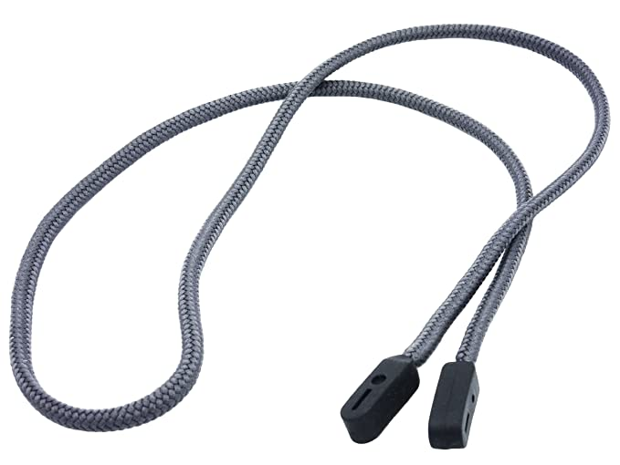 Cordón para gafas de primera calidad GoGrip (Gris) JJwdi