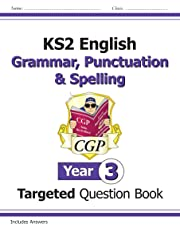 KS2 English Targeted Question Book: Grammar, Punctuation & Spelling - Year 3 (CGP KS2 English)