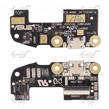Conector Carga para ASUS ZENFONE 2 ZE550ML Flat Cargador Dock Flex ...
