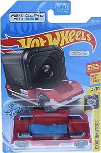 Hot Wheels Experimotors Series 4/10 Zoom in 103/250, red