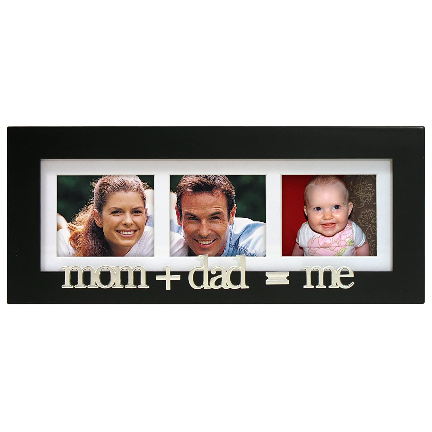 amazoncom malden international designs mommy and me expressions picture frame 4x6 black baby keepsake frames - Mom Picture Frame