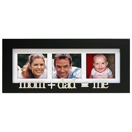 Amazon.com - Malden International Designs Mom+Dad=Me Wood Matted ...