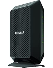 $99 Get NETGEAR Cable Modem CM700 - Compatible with all Cable Providers including Xfinity by Comcast, Spectrum, Cox | For Cable Plans Up to 500 Mbps | DOCSIS 3.0