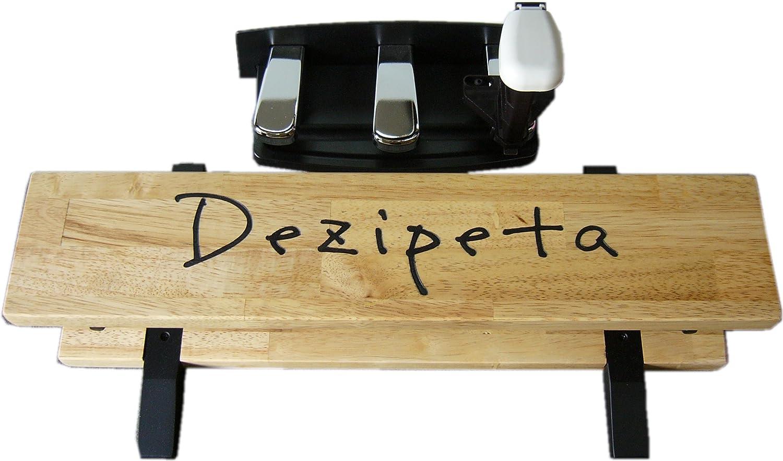 格安SALEスタート! 電子ピアノ用 電子ピアノ用 補助ペダル「デジペタ」 足台(ナチュラル)&ペダル(ホワイト)セットホワイトB00RB9CBNC, 日本に:ea22ce8c --- a0267596.xsph.ru