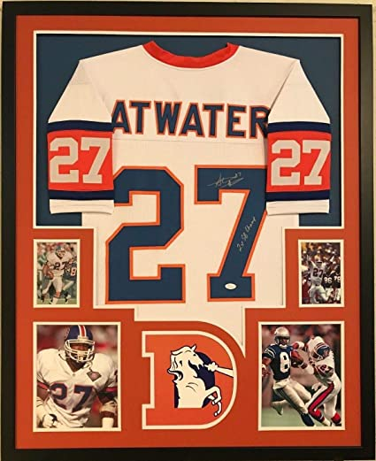 brand new cde6a 51887 FRAMED STEVE ATWATER AUTOGRAPHED SIGNED INSCRIBED DENVER ...