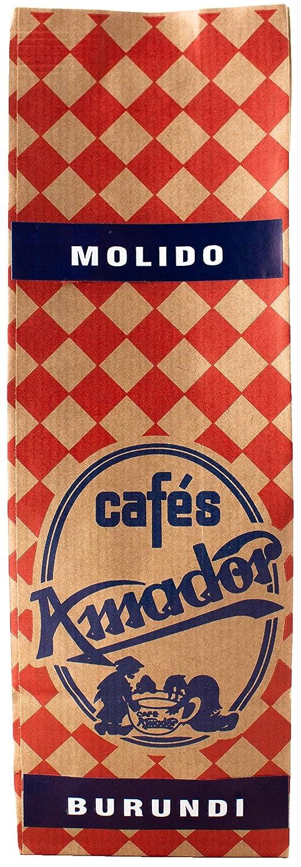 Cafés AMADOR - Café MOLIDO MEDIO Natural Arábica - BRASIL CERRADO ...