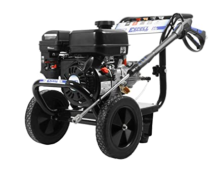 excell EPW2123100 3100 PSI 2 8 GPM Cold Water 212CC Gas Powered Pressure  Washer