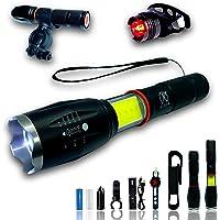Ultra krachtige LED-zaklamp oplaadbare USB-batterij oplader Krachtige 1000 lumen Multifunctionele + UV-zaklamp + Bike…