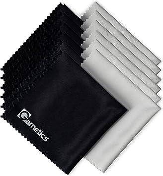 """2 x paños de microfibra ZEISS de limpieza de lente óptico ordenador de pantalla LCD 7/"""" X 7/"""""""