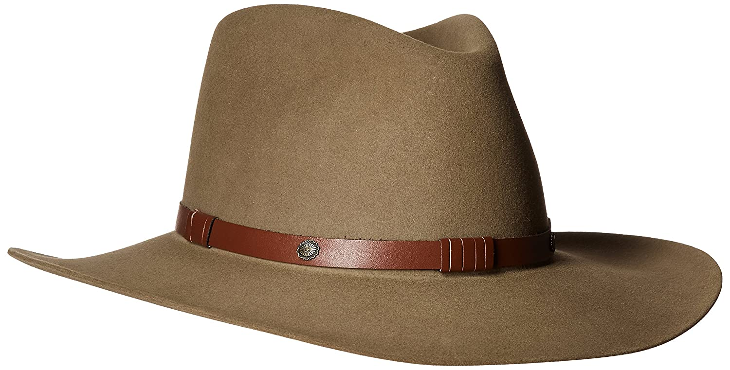 Amazon.com: Stetson Menu0027s 5X Catera Fur Felt Cowboy Hat   Sfctra 403212  Bark: Clothing