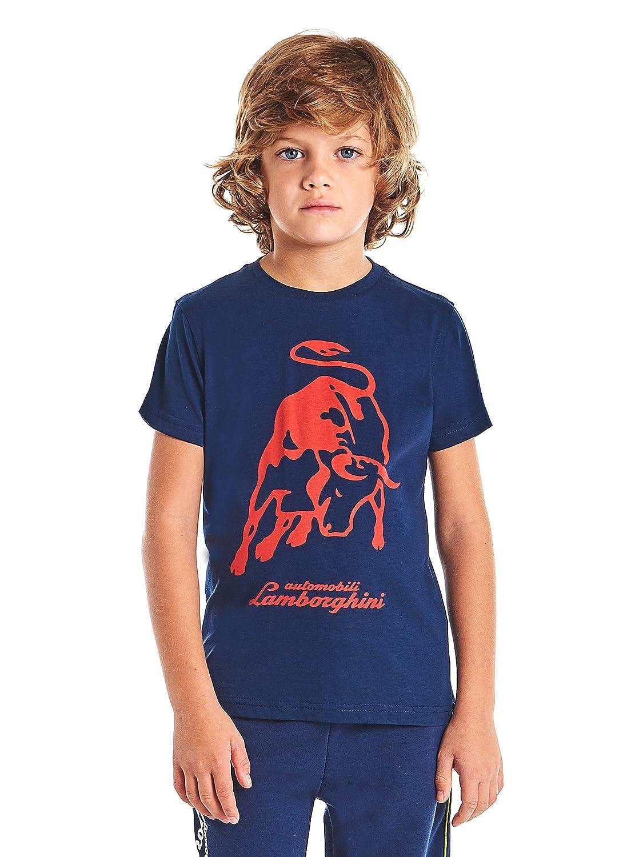 Automobili Lamborghini Jungen T-Shirt Big Bull Lamborghini fü r Kinder 9010848CC