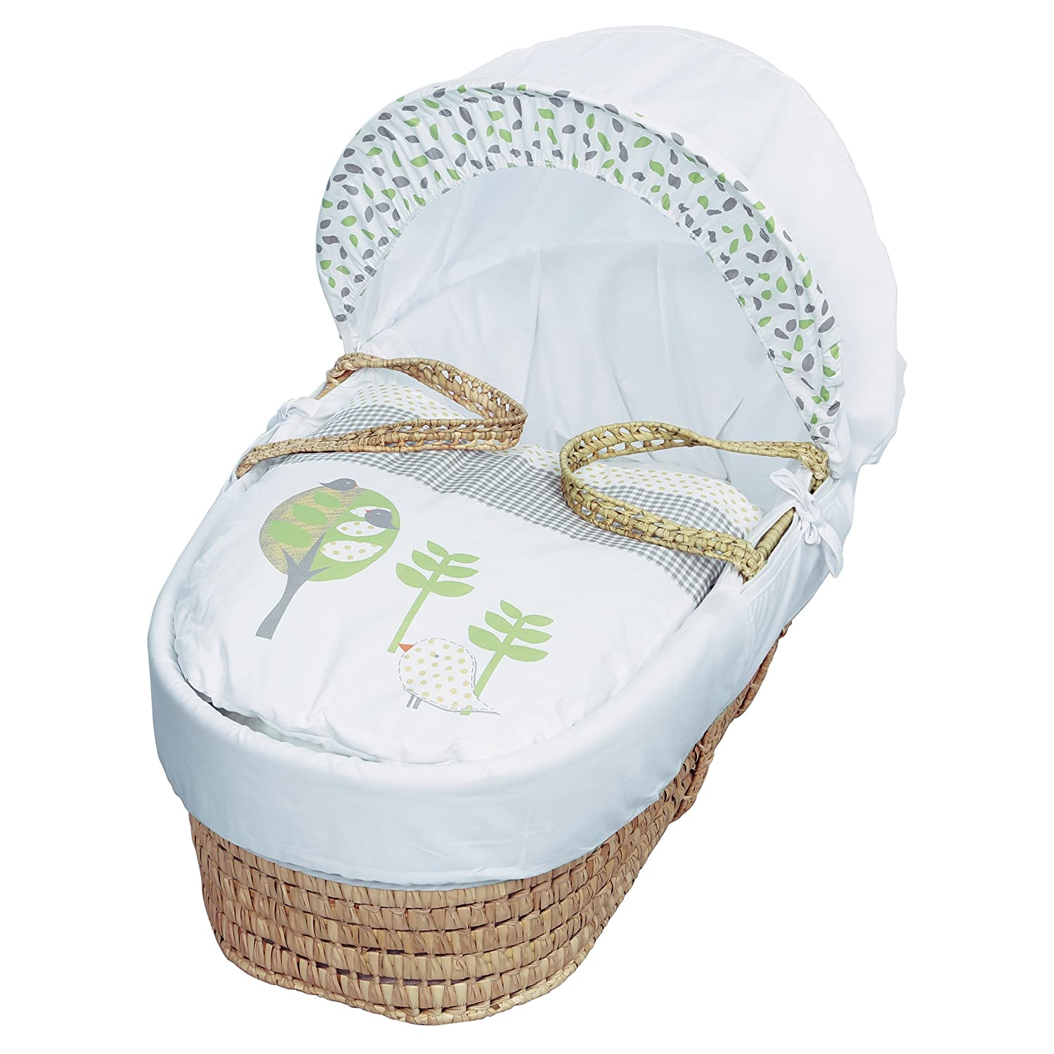 Kinder Valley Three Little Birds Moses Basket TWEETMB