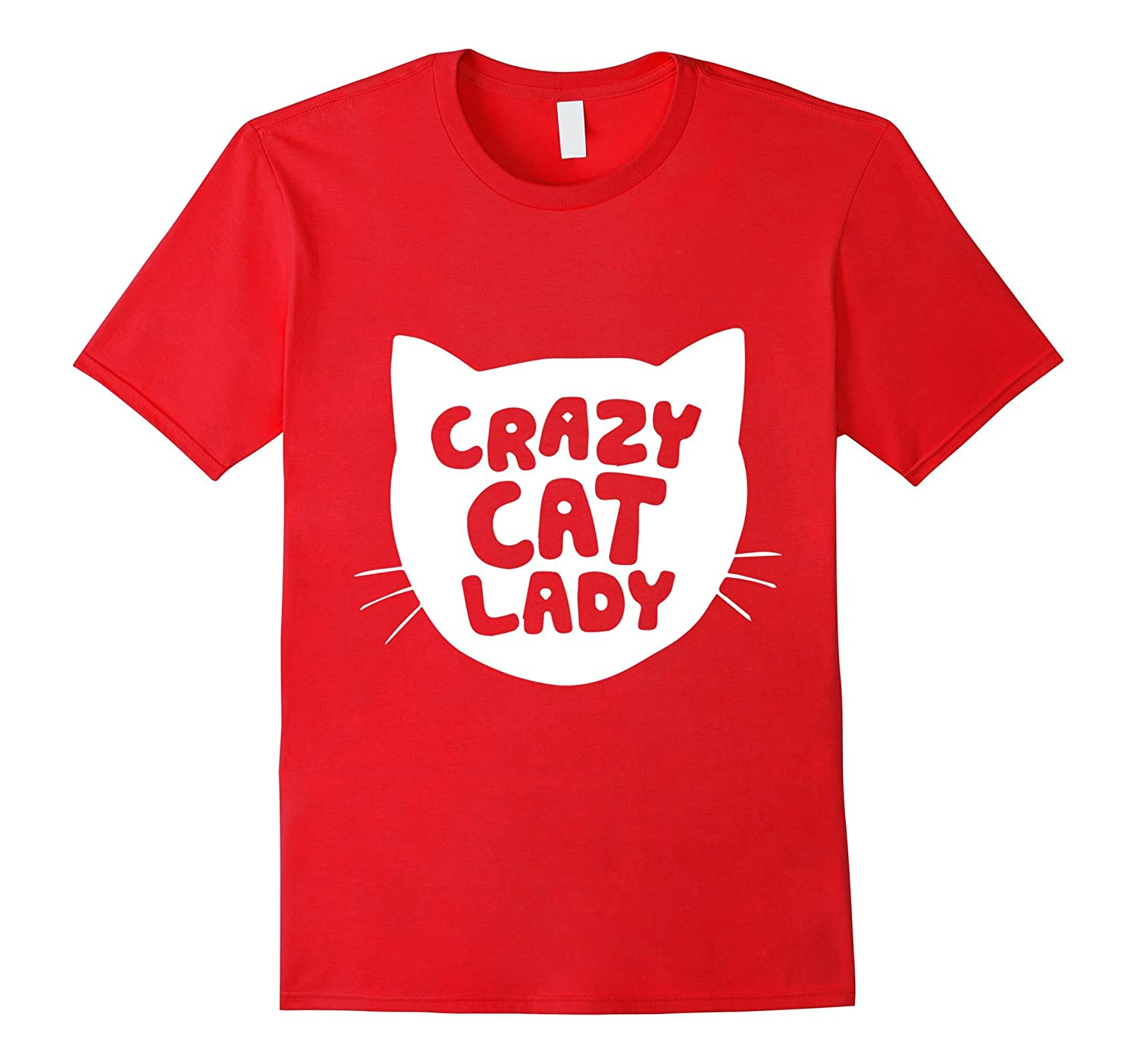 'Crazy Cat Lady' Short Sleeve Cotton Comfort Funny Tees-BN