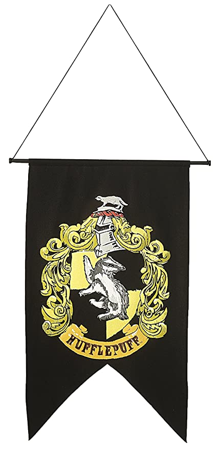 Rubies Harry Potter Printed Hufflepuff Banner