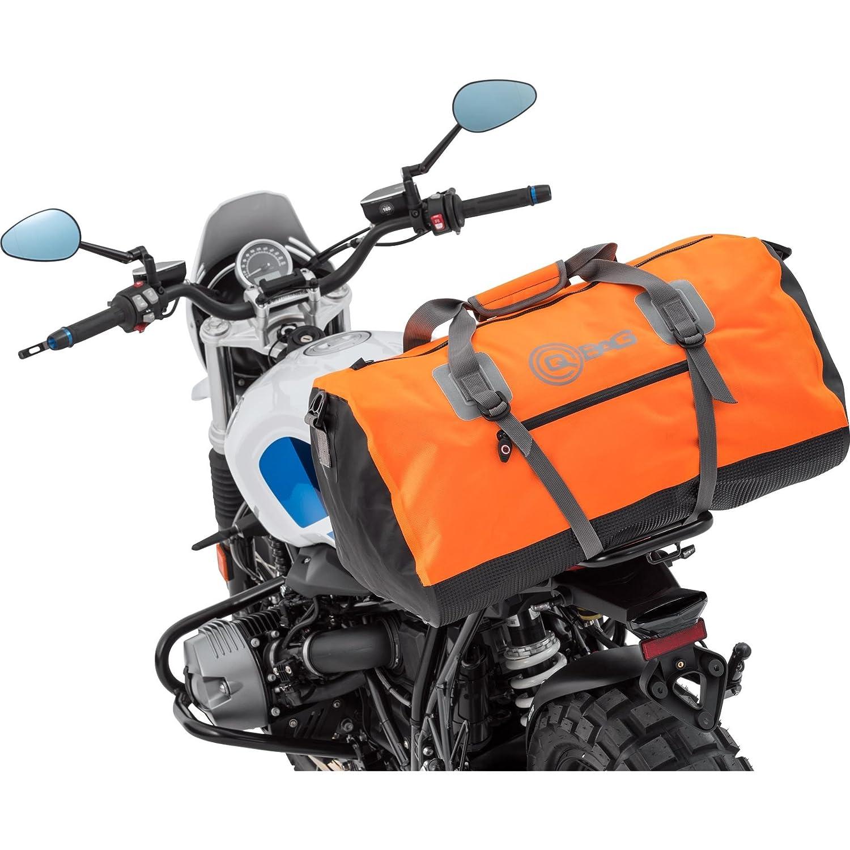 Motorrad-Heck-Tasche QBag Hecktasche/Gepä ckrolle wasserdicht 11, 80 Liter orange