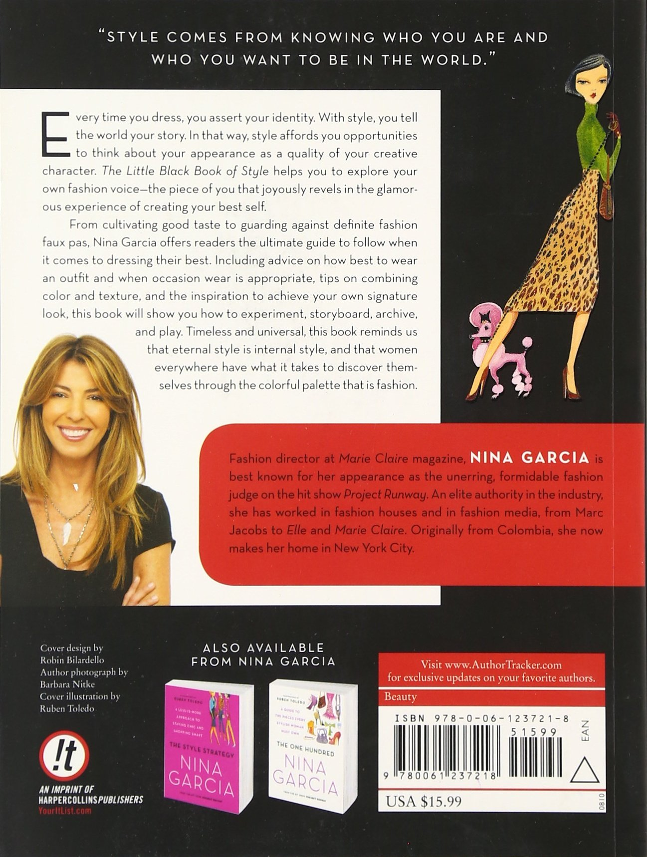 6e9ec559c The Little Black Book of Style  Nina Garcia  9780061237218  Amazon.com   Books