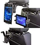 Navitech Tablet pc in Car Headrest/Back Seat Black Expandable Firm Grip Mount Cradle Compatible with The Asus Eee Pad MeMo 3D. Sale On All Asus Products!! Over 66% Off!!!