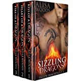 Sizzling Dragons Box Set (Books 1-3: Fallen Immortals)—Dragon Shifter Paranormal Romance (Fallen Immortals Box Sets Book 1)