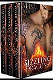 Sizzling Dragons Box Set (Books 1-3: Fallen Immortals)—Dragon Shifter Paranormal Romance