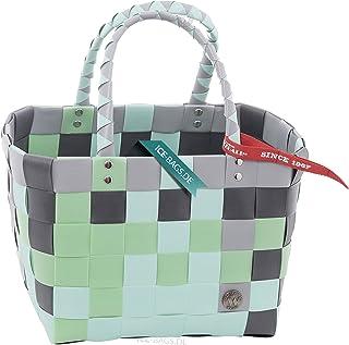 Mini ICE-BAG Shopper '5008-44' Körbe & Taschen original Witzgall, Kinderkorb - siilbergrau,grün