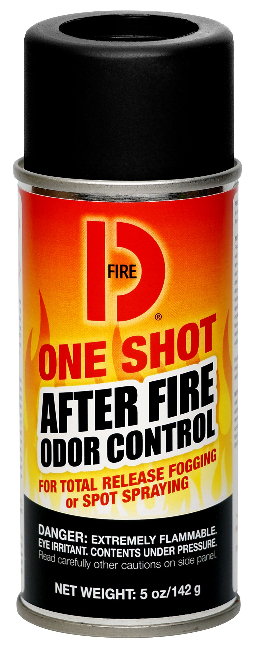 Big D 202 Fire D One Shot After Fire Odor Control Fogger, 5 oz (Pack of 12) - Kills odors from fire, flood, decomposition, cigarettes, musty smells - Ideal for use in cars, property management, hotels