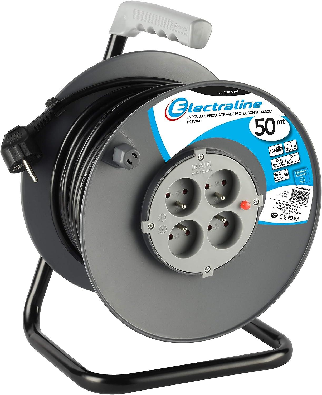 5 mmâ² un câble électrique Câble 2735 Rallonge 20 m 230 V ip44 Câble électrique 3x1