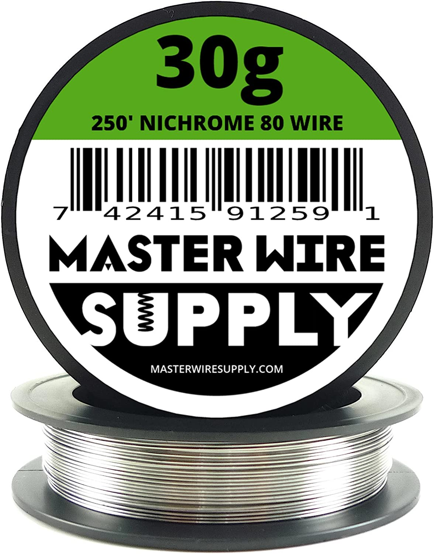 Nichrome 80 - 250' - 30 Gauge Resistance Wire