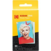 Kodak ROD-Z2X320 2ʺx3ʺ Premium Zink Photo Paper (20 Sheets) Compatible with KODAK Smile and PRINTOMATIC (NOT with Kodak…