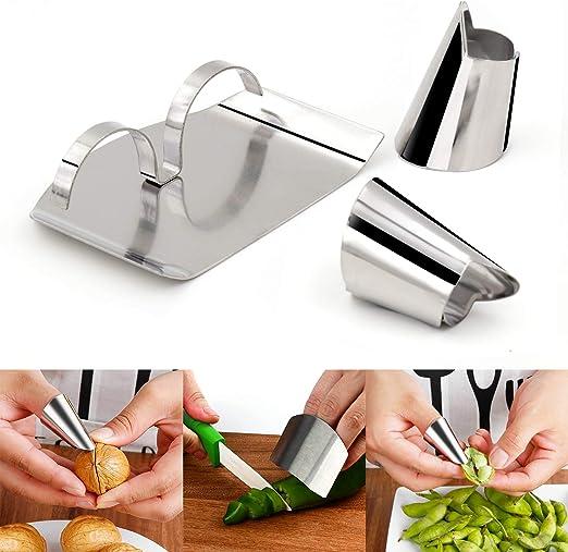 Edelstahl Hand Schutz Fingerschutz Schneideschutz Küche Schneiden Werkzeug
