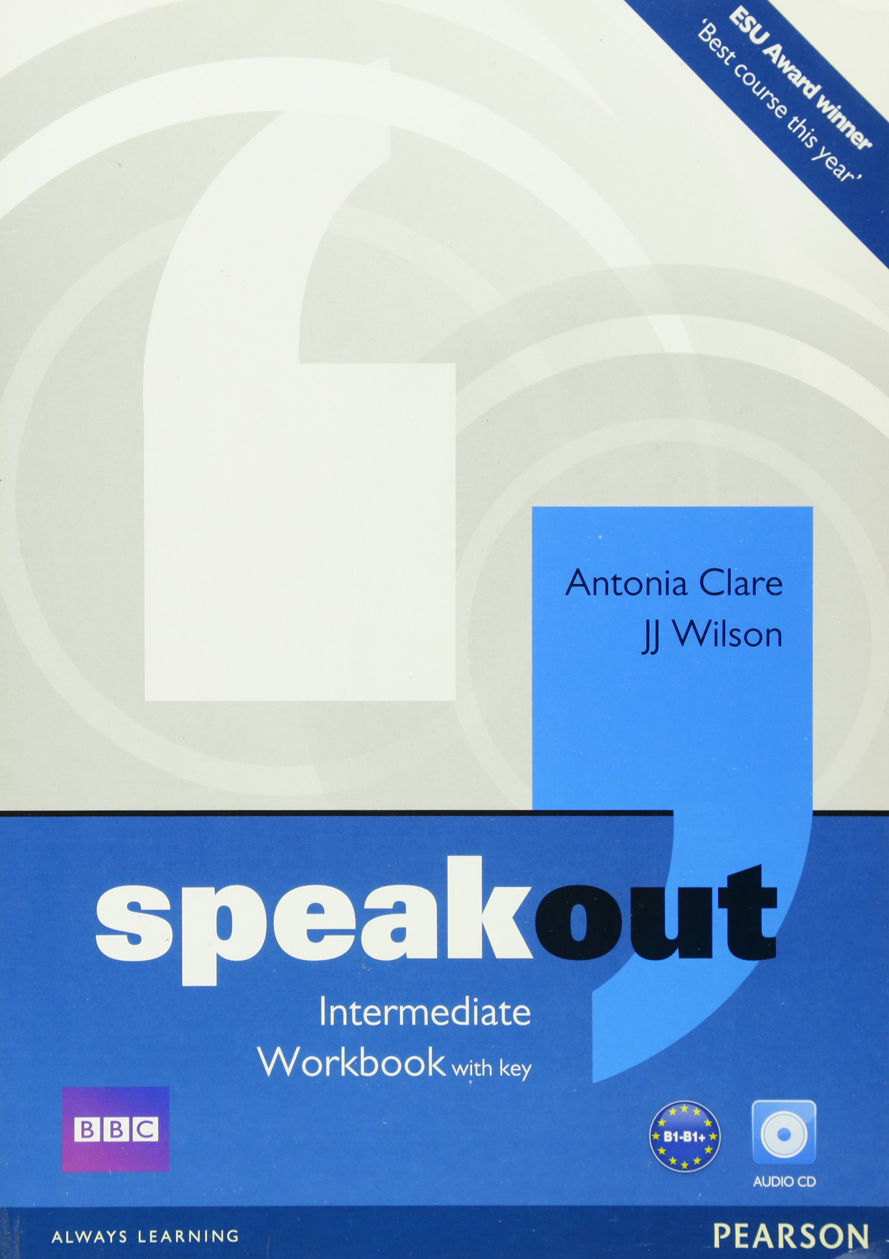 Speakout intermediate workbook with key and audio cd pack amazon speakout intermediate workbook with key and audio cd pack amazon antonia clare mr j j wilson 9781408259498 books fandeluxe Image collections