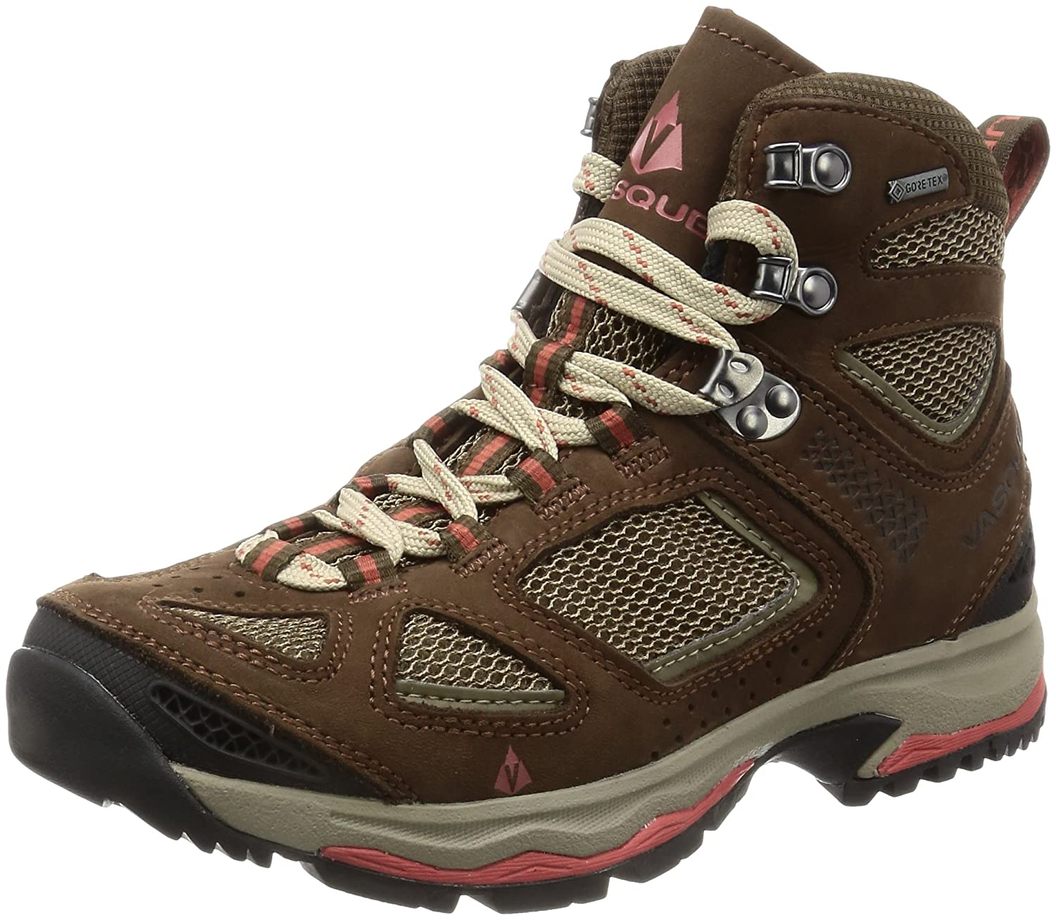 Vasque Women's Breeze III GTX Waterproof Hiking Boot B01F5K0HBG 6.5 M US|Slate Brown / Tandori Spice