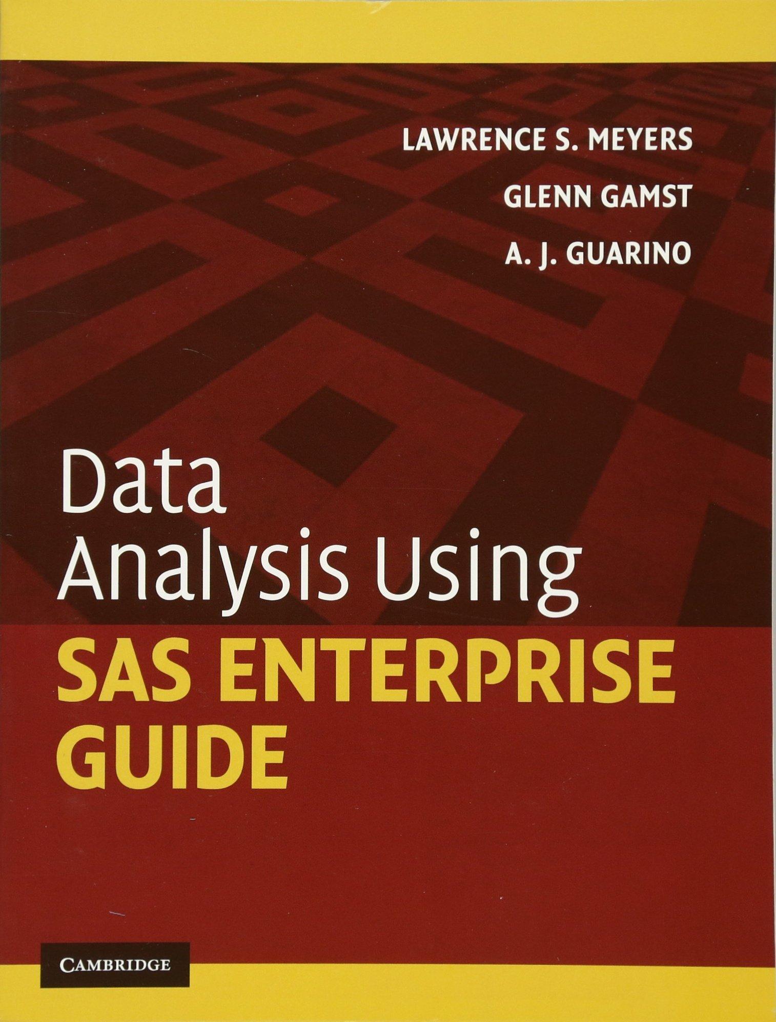 data analysis using sas enterprise guide amazon co uk lawrence s rh amazon co uk data analysis with sas enterprise guide SAS Enterprise Guide Icon