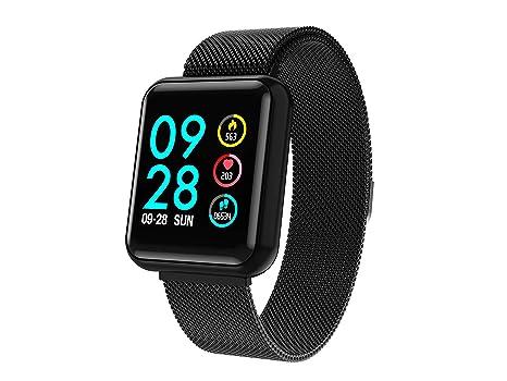 Amazon.com: Reloj inteligente con pantalla táctil y ...