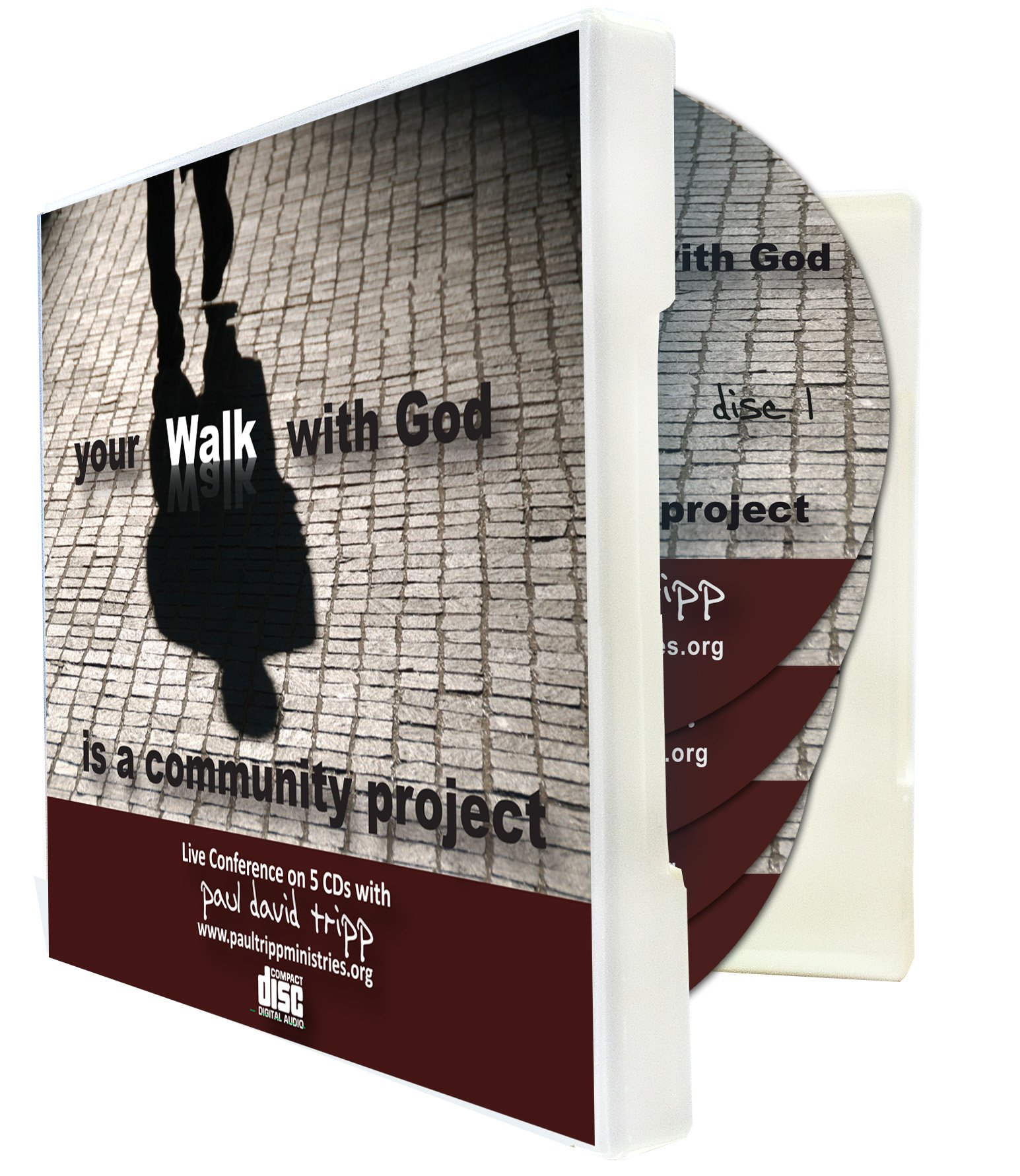 Your Walk with God Is a Community Project - A Live Conference on CD