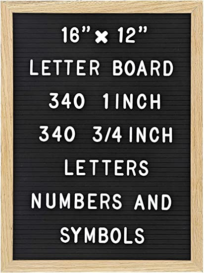 Letter Board With 188 Letters Numbers and Symbols Artboss Indoor and Outdoor