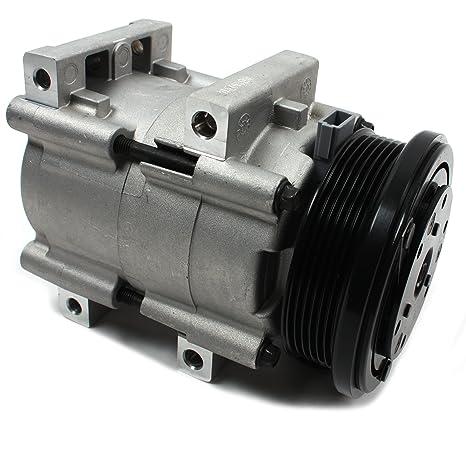 Nueva acc58140 AC a/c compresor con 6 ranuras de embrague para Ford/Mercury