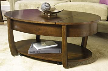 Hammary Concierge Oval Lift Top Cocktail Table