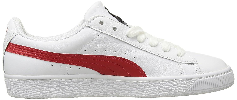 Puma - PUMA - Herren Korb Classic LFS Schuhe, 40 40 40 EU, Puma Weiß Flame Scarlet a50501