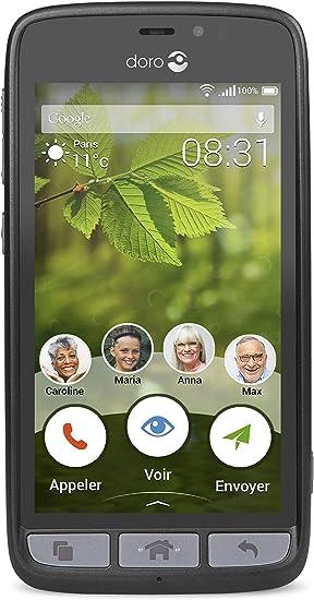 Doro Liberto 8031 8GB Negro - Smartphone (Android, MicroSIM, GPRS ...