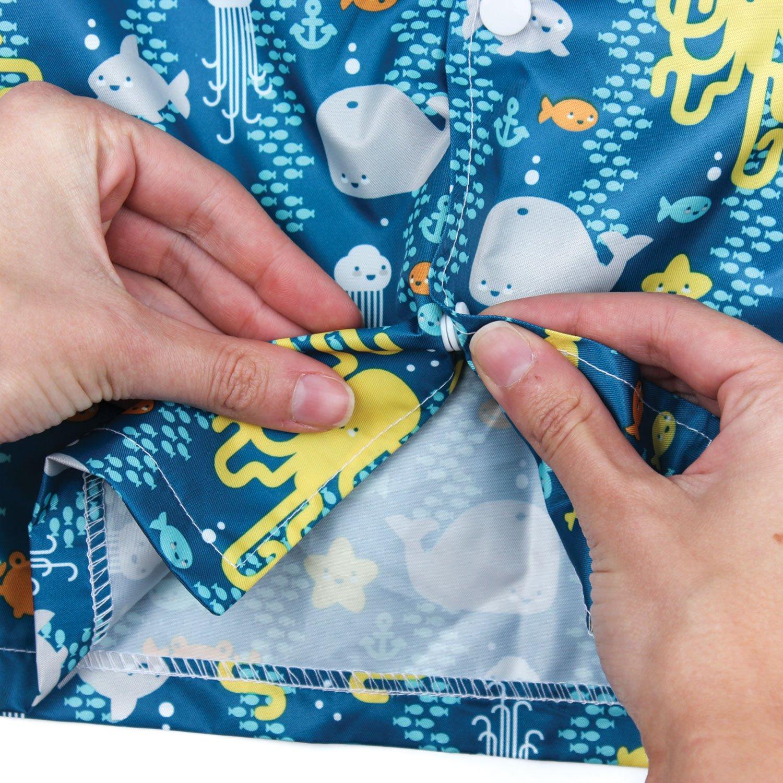 Urban Bird Design.white 18-24 months Bumkins Baby Rain Jackets