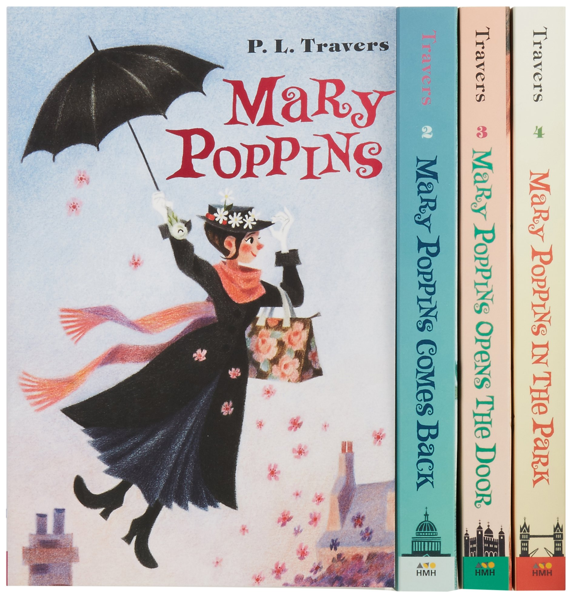 Mary Poppins Boxed Set Paperback by Dr. P. L. Travers (Author), Mary Shepard (Illustrator)