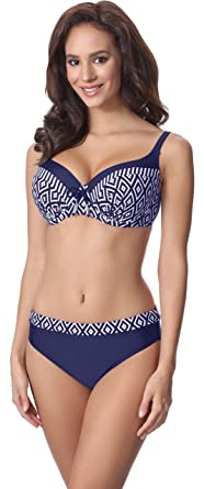 ad5656ad28 Merry Style Maillot de Bain Femme 2 Pièces Bikini Ensemble Top Soutien-Gorge  et Culotte