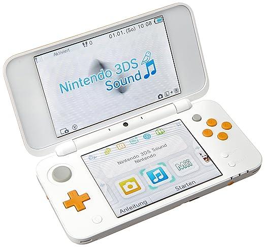 New Nintendo 2DS XL, Bianco/Arancione [Importación italiana ...