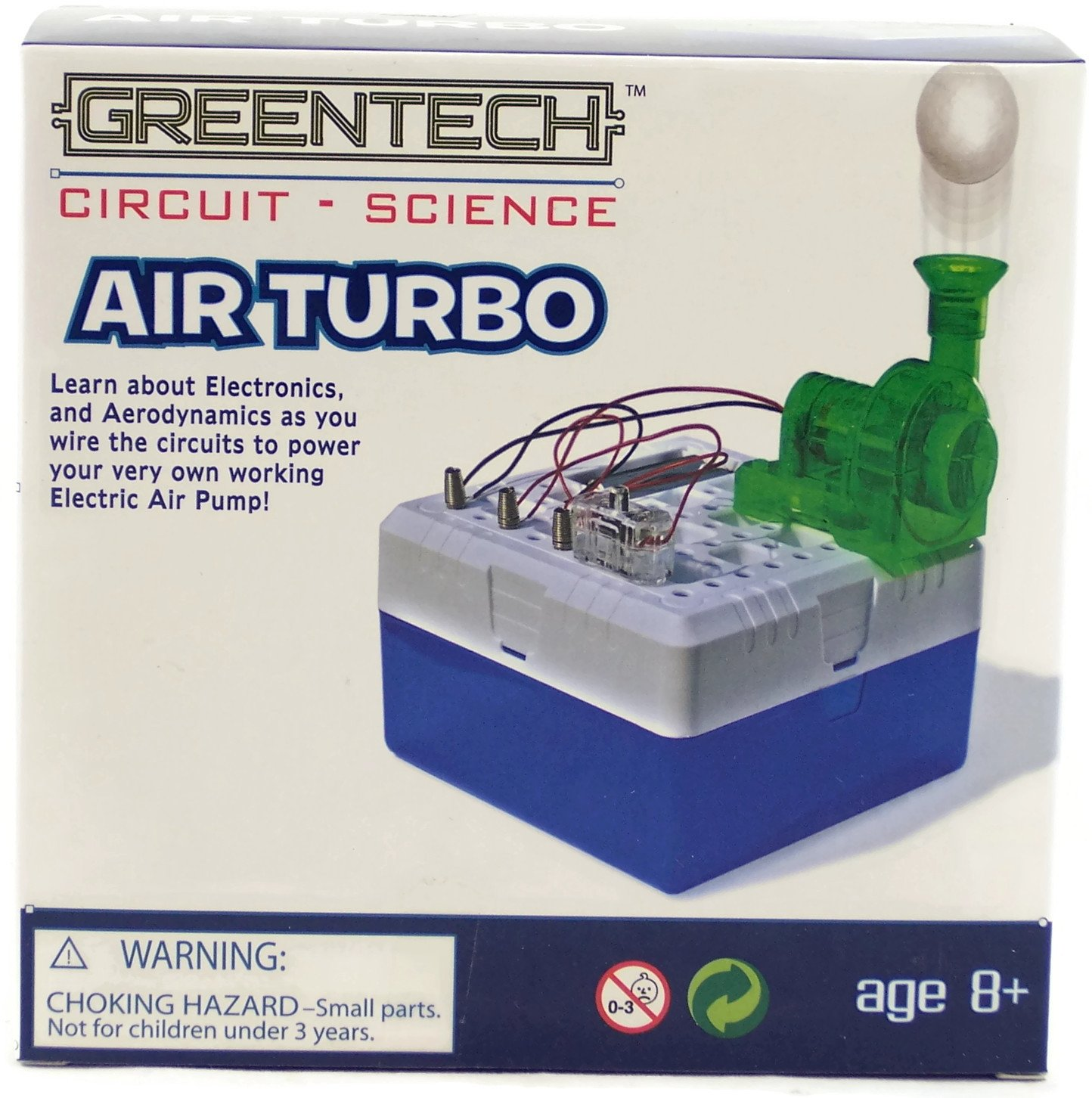 Greentech Circuit Science Airturbo Model Kit By Five Basic Electronics Toys For Kids Snap Circuits Jr Sc 100 Below Games