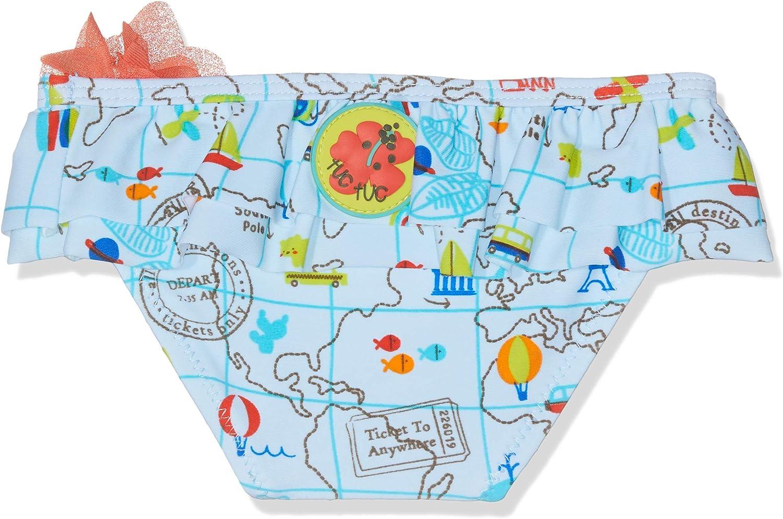 Braguita para Ni/ñas Tuc Tuc Culet/ín Estampado Ni/ña World Map