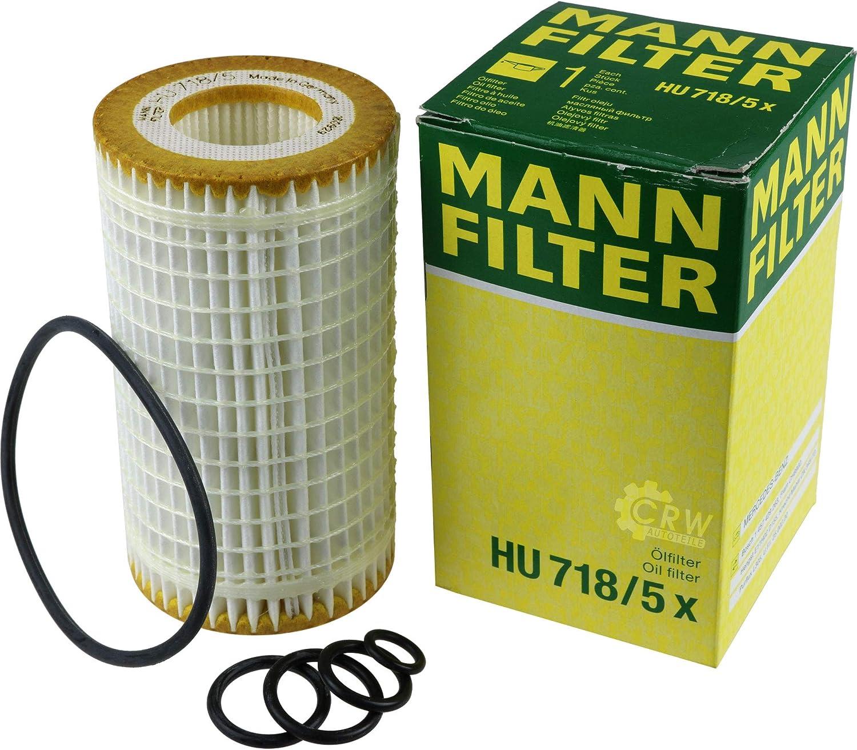 MANN-FILTER Inspektions Set Inspektionspaket Innenraumfilter Luftfilter /Ölfilter