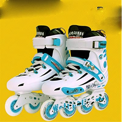 LNYF-OV Inline Skates Adult Fancy Single Row Smooth Shoes Straight Row Roller Skates Male and Female Adult Riding Outdoors : Sports & Outdoors